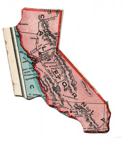 California Puzzle Piece - Medium